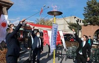 Ahlat'a doğalgaz ateşi yakıldı