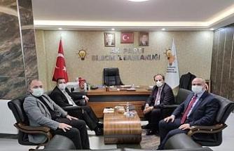 AK Parti MKYK üyesi Coşkun'dan İl Başkanı Karabıyık'a ziyaret