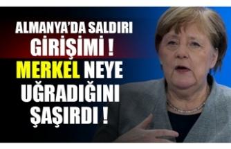 Almanya'da deprem! Merkel neye uğradığını şaşırdı