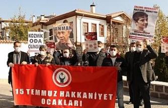 Başkent'te Bülent Arınç protesto edildi