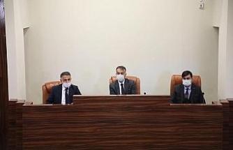 Bitlis İl Özel İdaresinin 2021 yılı bütçe ve yatırım görüşmeleri