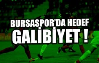 Bursaspor, Adanaspor'u ağırlıyor