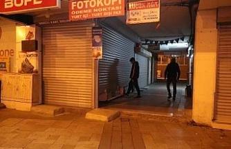 Denizli'de sokağa çıkma kısıtlamasında ikinci günde sokaklar boş kaldı