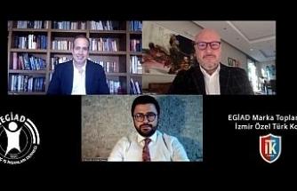 EGİAD'ın son toplantısında eğitimdeki gelişmeler ve markalaşma konuşuldu