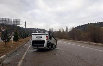 Karabük'te 2 ayrı trafik kazası: 1'i çocuk 4 yaralı