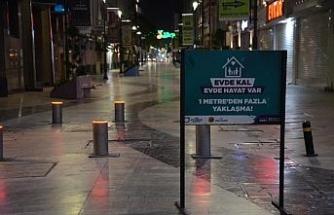 Kısıtlamanın ikinci haftasında Ordu sokakları ıssız kaldı