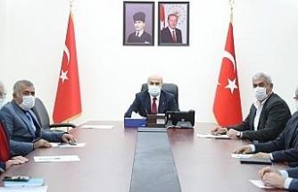 Mardin'de toprak koruma kurulu toplantısı yapıldı