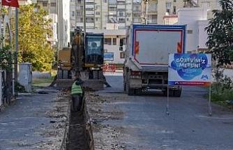 MESKİ, Tömük ve Arpaçbahşiş'e 65,5 kilometre içme suyu hattı yapıyor