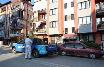 Pamukkale Belediyesi dezenfekte hizmetlerine devam ediyor