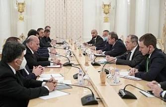 Rusya Dışişleri Bakanı Lavrov, Irak Dışişleri Bakanı Hüseyin ile görüştü