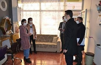 """Tercan'da """"Aile İçi ve Kadına Yönelik Şiddetle Mücadele Değerlendirme Toplantısı"""" düzenlendi"""