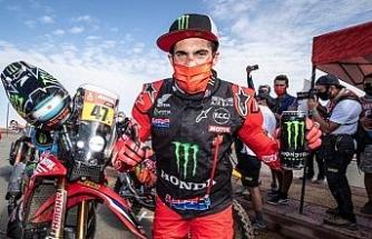 2021 Dakar Rallisi'nin şampiyonu Honda ile Kevin Benavides oldu