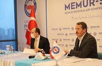 AK Parti Grup Başkanvekili Muş'tan Memur-Sen'e ziyaret