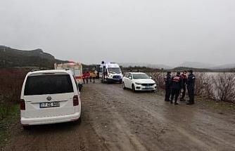Ayvacık Barajı'na araç düştü iddiası ekipleri harekete geçirdi