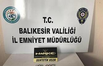 Balıkesir'de uyuşturucu operasyonu: 13 gözaltı