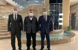 Başkan Ramazan Gaziantep'te temaslarda bulundu