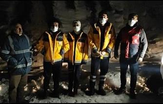 Batman'da 112 Acil personeli donmaktan son anda kurtarıldı