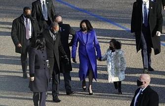 Biden'ın ardından Başkan Yardımcısı Harris'te Beyaz Saray'da