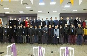 Burhaniye AK Parti'de Gedikoğlu güven tazeledi