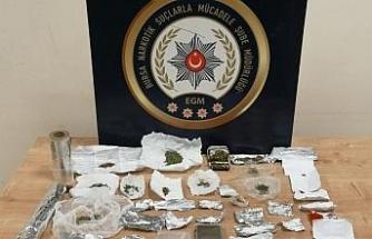 Bursa'da 1 kilo 250 gram uyuşturucu ele geçirildi