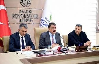 Büyükşehir Belediyesi Malatya için yatırımlarına devam ediyor