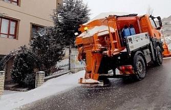 Çankaya Belediyesi kar nöbetinde