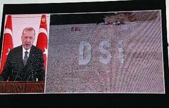 Cumhurbaşkanı Erdoğan dev projenin açılışına video konferansla katıldı
