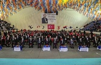 Cumhurbaşkanı Erdoğan, Uşak AK Parti kongresine bağlandı