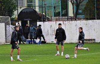 Denizlispor, Hatayspor maçı hazırlıklarını sürdürdü