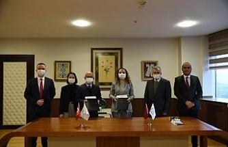 Düzce Üniversitesi'nin endüstriyel iş birlikleri bölge sınırlarını aştı