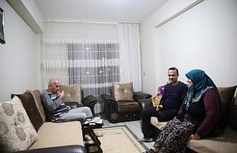 Elazığ depreminin birinci yılı dolmadan birçok aile yeni evlerine girdi