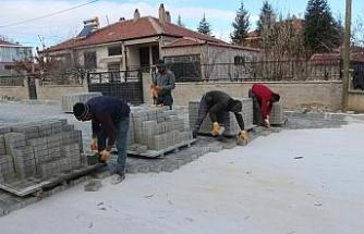 Emirdağ'da üst yapı çalışmalarında sona yaklaşıldı