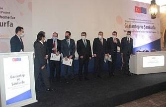 ENHANCER Projesi kapsamında ilk hibe programı Şanlıurfa'da açıklandı