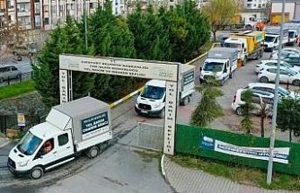 Esenyurt Belediyesi 66 araç ve 2 bin ton tuz stoğuyla kışa hazır