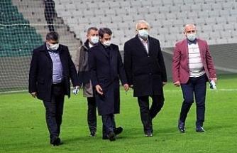 Giresun'da Çotanak Stadı açıldı