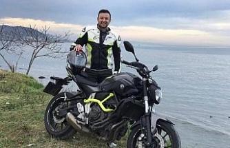 Giresun'da motorsiklet kazasında ölen genç son yolculuğuna uğurlandı