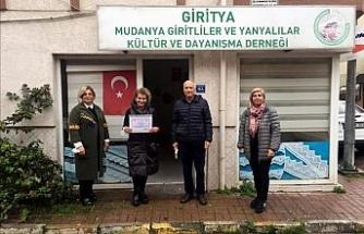 Giritya'dan fidan bağışı