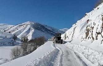 Gümüşhane'de kapalı köy yollarının tamamı açıldı