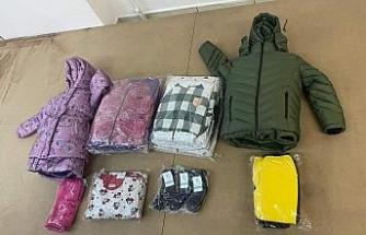 Günaydoğu'daki çocuklara kışlık kıyafet yardımı