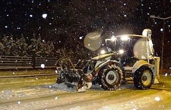 Hisarcık Belediyesi'nden karla mücadele seferberliği