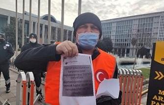 İşten çıkarılan İSPARK çalışanı İstanbul'dan Ankara'ya pedal çevirecek