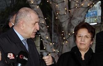 İYİ Parti Milletvekili Özdağ, il başkanlığı düşen Şekerdağ'ı ziyaret etti