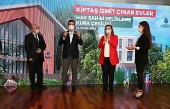 İzmit Çınar Evler'nde hak sahipleri kurayla belirlendi
