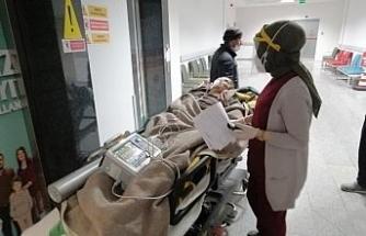 Karbon monoksit gazından zehirlenen yaşlı kadın kurtarılamadı