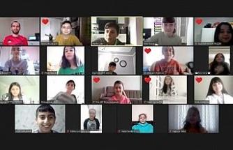 Kartepe'de online halk oyunları eğitimi