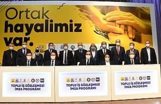 Konya belediyelerinde toplu sözleşme imzalandı