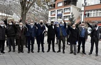 MHP Gümüşhane Teşkilatı'ndan polise destek