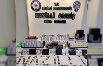 Nazilli'de kumar operasyonu