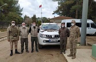 Şanlıurfa'da kaçak avlanan 2 kişi yakalandı