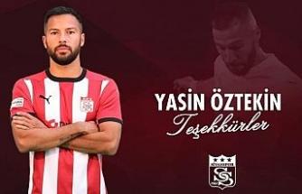 Sivasspor Yasin Öztekin'e teşekkür etti